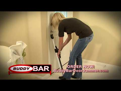 Buddy Bar Door Jammer Home and Family Security