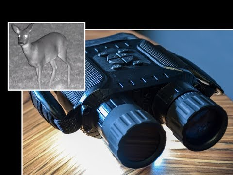 Incredible Night Vision Digital Binoculars that record Photos & Video!