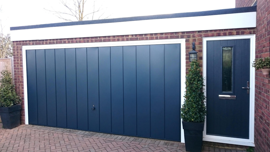 how to secure a garage door