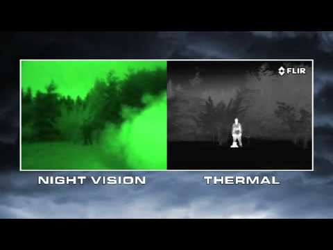 thermal imaging v night vision